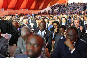 Leaders of all countries were gathered in Paris, discussing proposals and solutions to climate change.